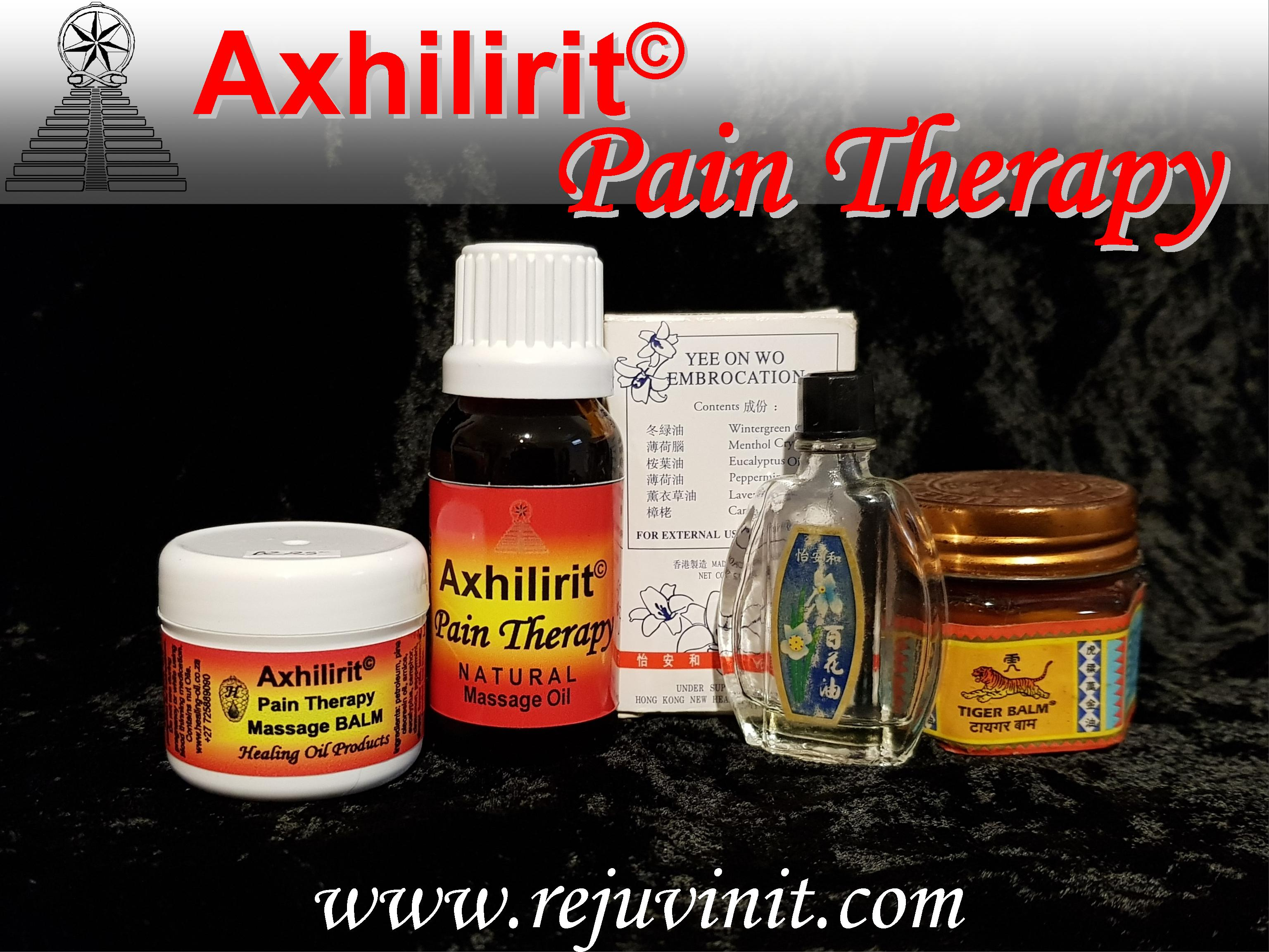 00 x 3 powerful Pain Therapy with Axhilirit