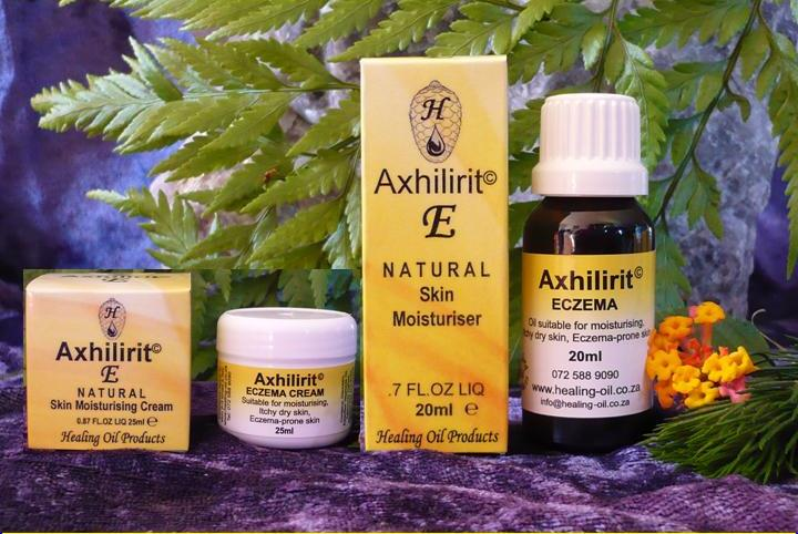 Axhilirit E Eczema Oil and Cream